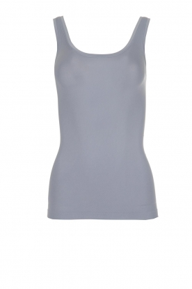 Hanro |  Top Touch Feeling | blue/grey