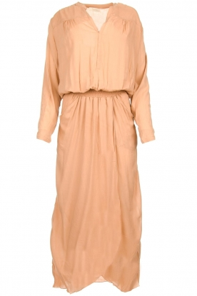 Rabens Saloner |  Maxi dress Marinne | nude
