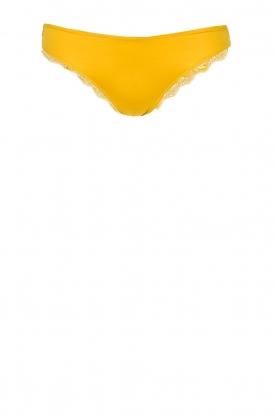 Hanro | Slip met kant Fleur | geel