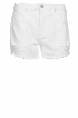 Articles of Society | Denim short Meredith | white