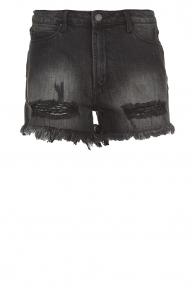 Articles of Society | Denim short Meredith | black