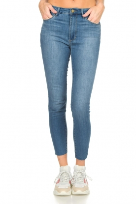 Articles of Society | High-rise jeans Heather | blauw