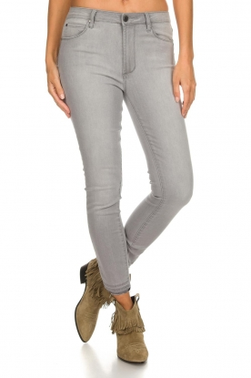 Articles of Society |  High-rise jeans Heather | grey