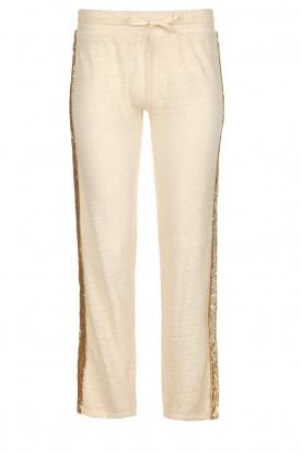 Not Shy |  Linen pants Sissy | beige