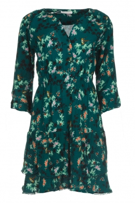 Freebird |  Floral dress Hazel | green