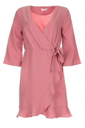 Freebird |  Wrap dress Presley | pink