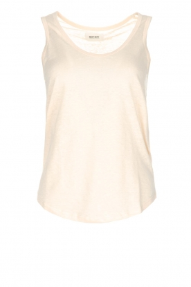 Not Shy | 100% linnen top Audrey | beige