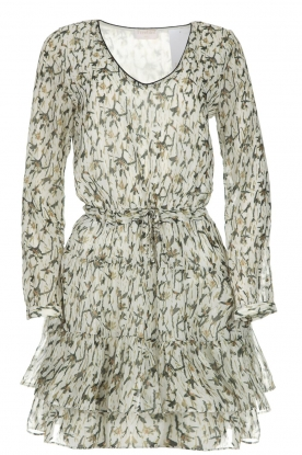 Freebird |  Printed dress Georgia | white