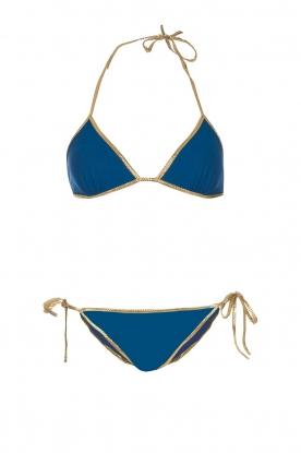 Tooshie | Tweezijdige triangelbikini Hampton | blauw
