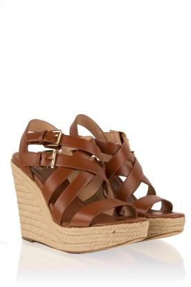 Leather sandal Jocelyn | brown
