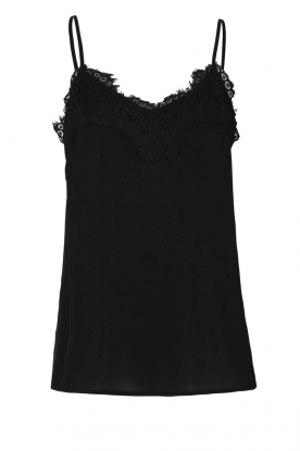 Rosemunde |  Silk top Elia | black