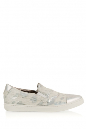 SVNTY | Leren slip-on Georgie | wit