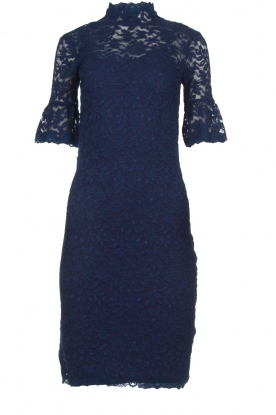 Rosemunde |Lace dress Benthe | blue