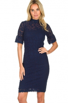 Rosemunde | Lace dress Benthe | blue