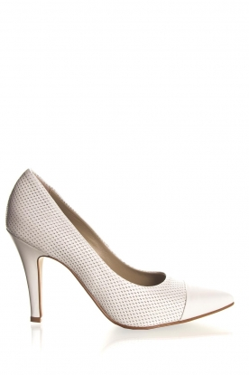 Noe | Leather pumps Nicole | natural