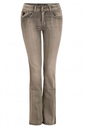 Lois Jeans | Flare jeans Melrose lengtemaat 32 | grijs