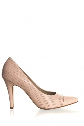 Noe |Leather pumps Nicole | nude