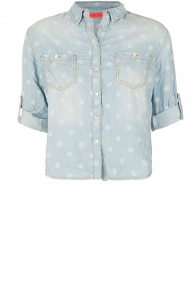 Manila Grace | Blouse Savanna | blauw