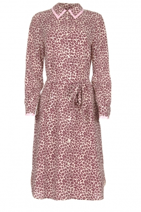 Essentiel Antwerp |  Dress with leopard print Sama | animal