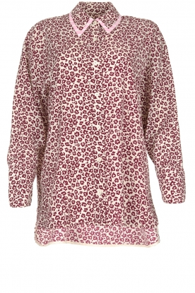 Essentiel Antwerp |  Blouse with leopard print Shreya | animal