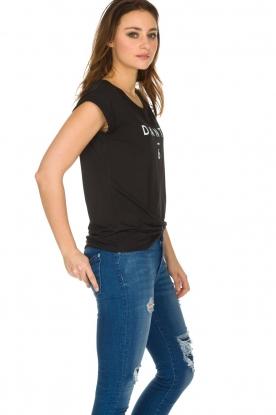 Dante 6 | T-shirt Logo | zwart