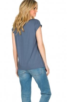 Dante 6 | T-shirt Logo | blauw