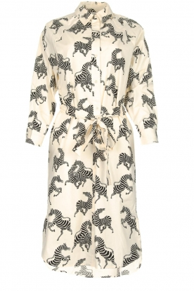 Essentiel Antwerp |  Dress with zebra print | animal