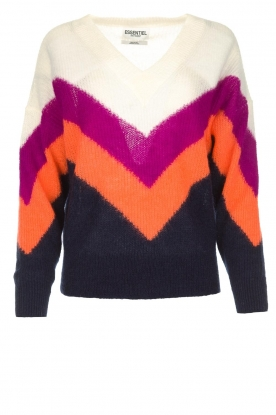 Essentiel Antwerp | Woolen sweater Annelies  | multi