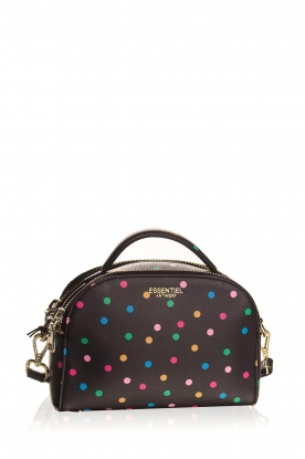 Essentiel Antwerp | Shoulder bag with dots Dora | black