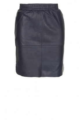 Dante 6 |  Leather skirt Comet | blue