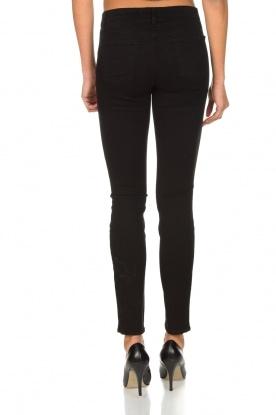 J brand | Super skinny broek Sateen | Zwart