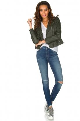 J brand | High rise skinny jeans Revoke | Blauw