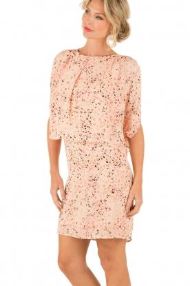 Hoss Intropia | Zijden jurk Della | roze