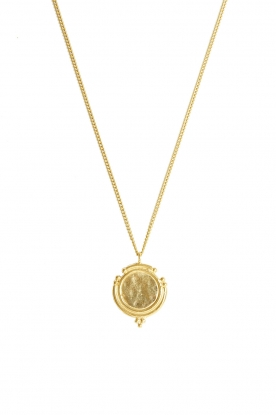 Mimi et Toi |  18k gold plated necklace Aurelie | gold