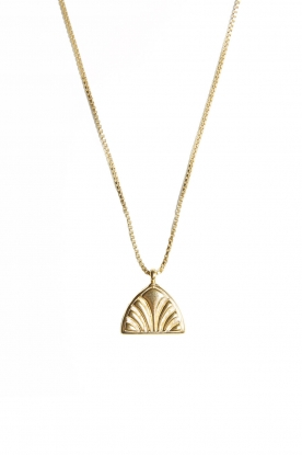 Mimi et Toi |  18k gld plated necklace Victoire | gold