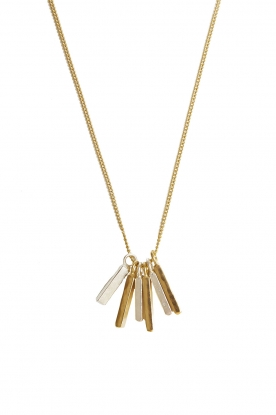 Mimi et Toi |  18k gold plated necklace Fauve | gold