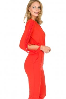 ELISABETTA FRANCHI | Body blouse Sierra | rood