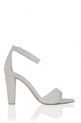 Leather sandals Selas | white