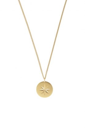 Mimi et Toi |  18k gold plated necklace Etoile | gold