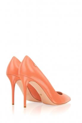 ELISABETTA FRANCHI | Leren pumps Blush | roze