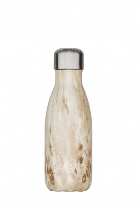 Flaske | Thermosfles Wood warm/koud 260 ml | bruin