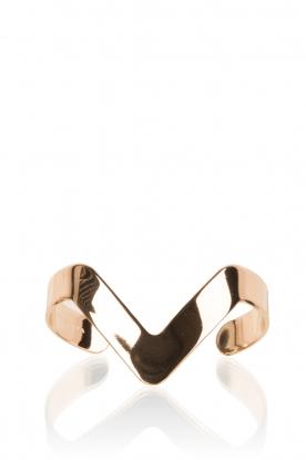 Hoss Intropia | Gouden armband Viva | goud
