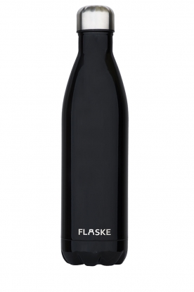 Flaske | Thermosfles Night warm/koud 750 ml | zwart