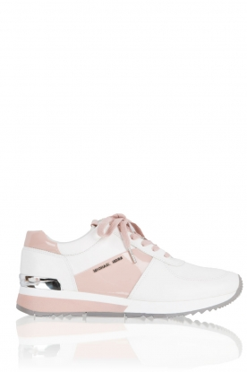 Leather sneakers Allie | pink