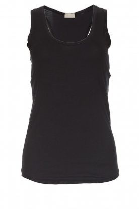 Hanro |  Sleeveless top Leira | black