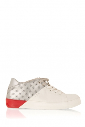 Leather Crown |  Leather sneakers Donna | multi