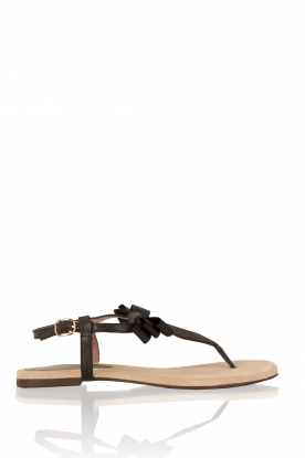 Leather sandals Suma | black