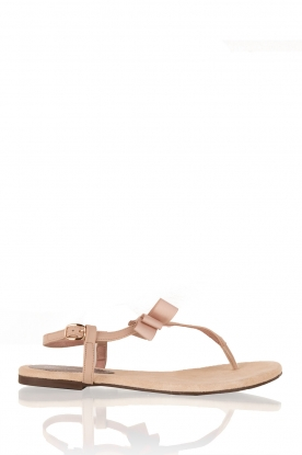 Leather sandals Suma | beige