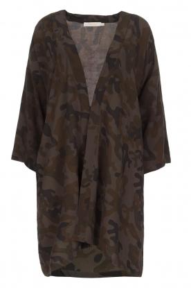 Rabens Saloner | Kimono Aaf | bruin