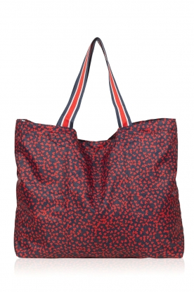 Becksöndergaard |  Foldable shopper Nora | red